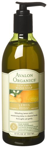 Avalon Organics Glycerin Hand Soap, Lemon, 12 Ounce by Avalo