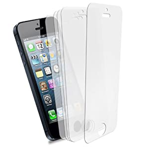 5x Wicked Chili Displayschutzfolie für Apple iPhone 5S / 5 UltraClear (Vorderseite, unsichtbar, Double-Layer)