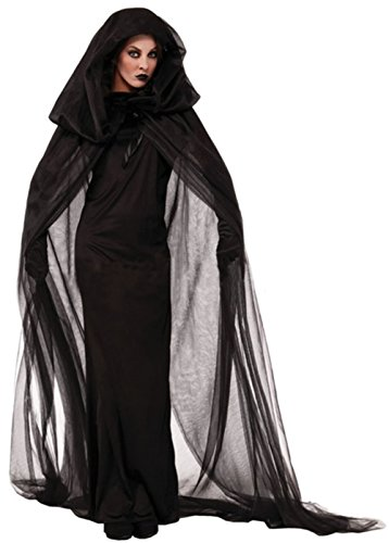 FCCO Women's Disney Maleficent Black Christening Gown Costume