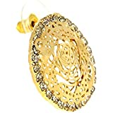Traditional And Ethnic Gold Tone Jewellery,Indian Fashion Earrings,Gifts For Sister