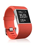 Fitbit Pulsera de Fitness Surge (Naranja)