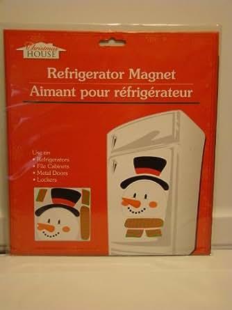 Amazon.com: Snowman Magnet Set Refrigerator Dishwasher ...