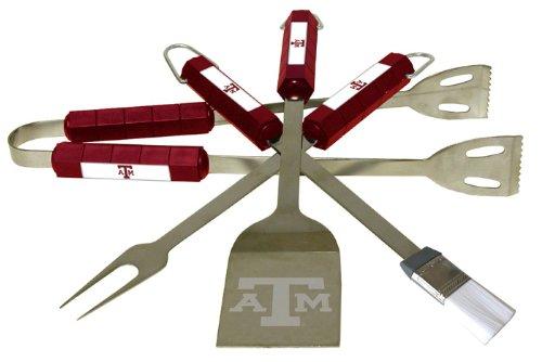 Texas A&M 4 Piece BBQ Set