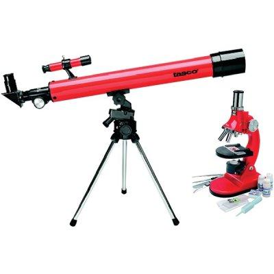 Tasco 49Tn Refractor Telescope & Microscope Combo