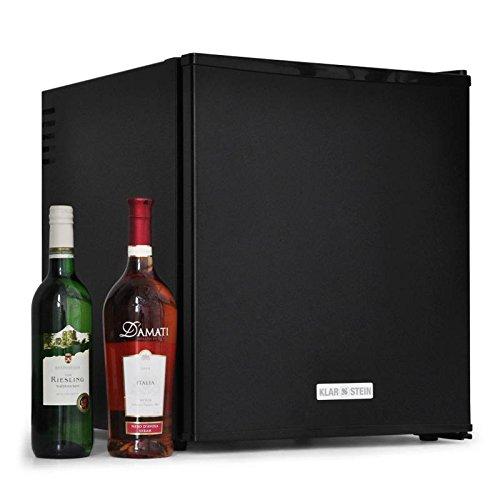 Klarstein - Mini frigo de bar encastrable - Mini réfrigérateur style hôtel et restaurant de classe energétique A (40 litres, lumière, 2 étagères) -
