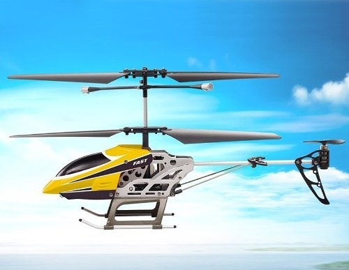 SongYang TOYS 8088-39 3.5-Channel Alloy Infrared RC Helicopter (Yellow)