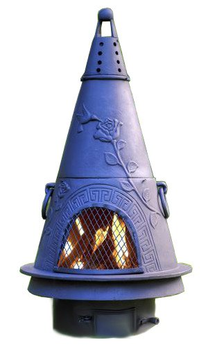 Chiminea-Outdoor-Fireplace-Wood-Burning-Garden-Design