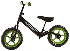 Childrens Metal Balance Bike Learning No-Pedal Boys Girls Running Kids Training Toy