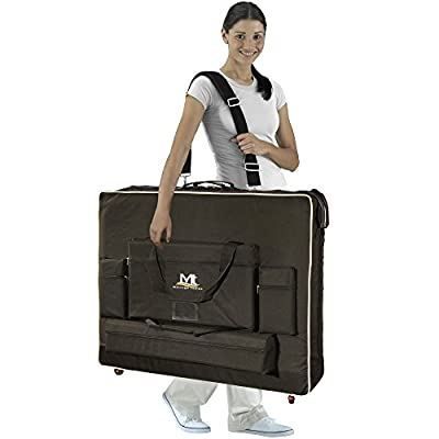 Mt Massage Tables Carrying Case with Wheels, Bag for Portable Massage Table