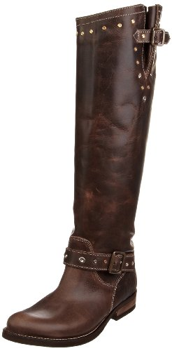Hilfiger Denim Women's Hudson 2 Mud Knee High Boots Fw56812768 6.5 Uk