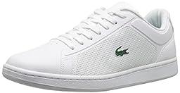 Lacoste Men\'s Endliner 116 2 Fashion Sneaker, White, 10 M US