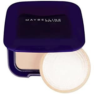 Maybelline New York Shine Free Oil Control Pressed Powder, Golden, Medium 2, 0.45 Ounce