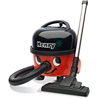 NUMATIC HVR200-12 Henry Vacuum Cleaner, Bagged, 620 Watt, Red/Black