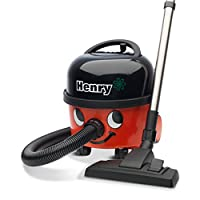 Numatic HVR200A Henry A1 Bagged Cylinder Vacuum Cleaner plus Kit A1, Red/Black (Discontinued by Manufacturer)