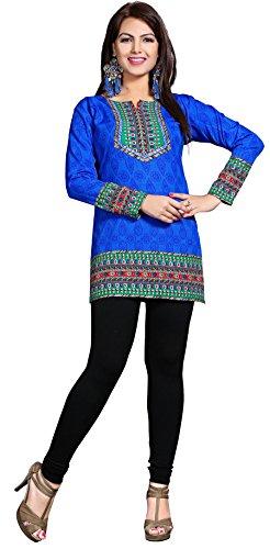 Maple Clothing - Camicia - Maniche lunghe  -  donna blu Small