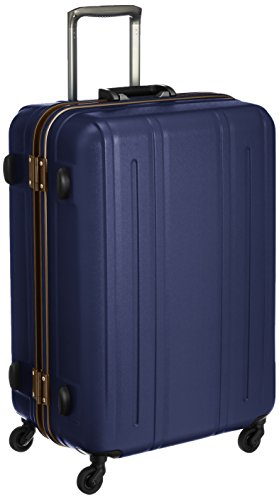 [エバウィン] EVERWIN 軽量スーツケース Be Silent 82L 4.2kg 31231 NV (ネイビー(キズ軽減加工))