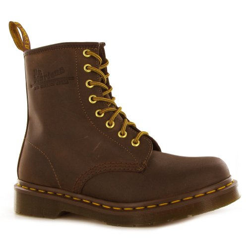 Dr.Martens 1460 Crazy Horse Brown Womens Boots Size 5