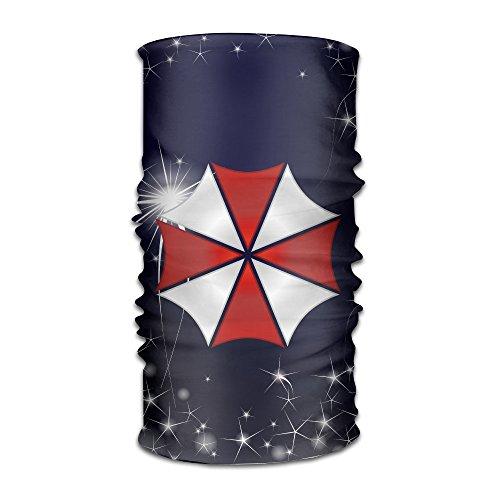 [MGTER66 Resident Evil Umbrella Logo Stylish Multifunctional Headband] (Resident Evil 5 Alice Costume)