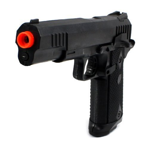 Marine Corp Electric Blowback Airsoft Pistol, Semi Automatic Fps-180 Aep Realistic Blowback, Hop Up