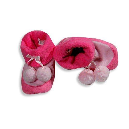 Cheap Private Label – Toddler Girls Bootie Slipper, Pink, Fuschia 15199 (B007C7GCV0)