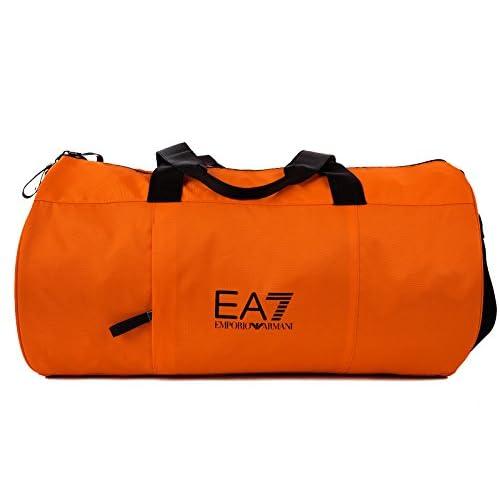 (エンポリオ アルマーニ EA7) (エンポリオ アルマーニ) EMPORIO ARMANI EA7 男性用 ナイロンクロスボディバッグ フィットネスバッグ オレンジ色 [?並行輸入品]
