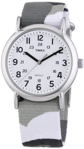 Timex Weekender Slip_Through Strap, Orologio da polso Donna