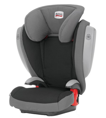 Britax Kid Plus with Side Impact Cushion Technology Group 2-3 Booster Seat (Felix/Grey)