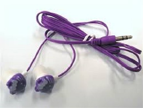 Hello Kitty Earphones Purple In Retail Packaging_Good Quality New