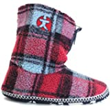 H0192D Bedroom Athletics McQueen Christmas Present Slippers Boots Booties Gifts For Him