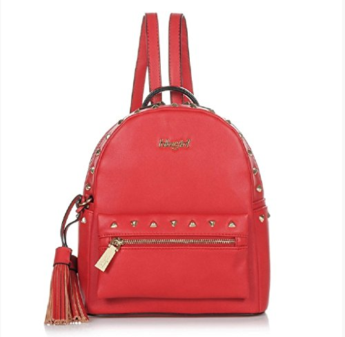ZAINO BORSA BLUGIRL BACKPACK RED 003