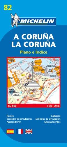 Plano A Coruña/ La Coruña (Planos Michelin)