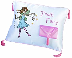 Lillian Rose Tooth Fairy Embroidered Pillow, 12