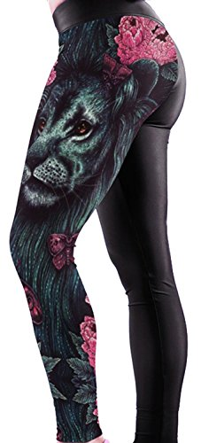 Anmengte Halloween Masquerade Party Cosplay Costume Legging 3D Printed Pants (one size) (Corn Brothers Collection compare prices)
