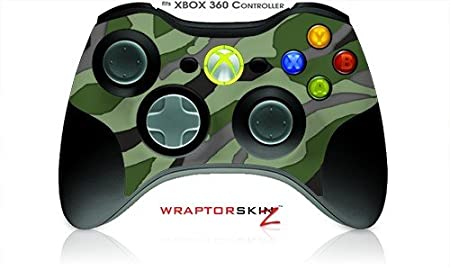 XBOX 360 Wireless Controller Decal Style Skin - Camouflage Green (Controller Not Included)