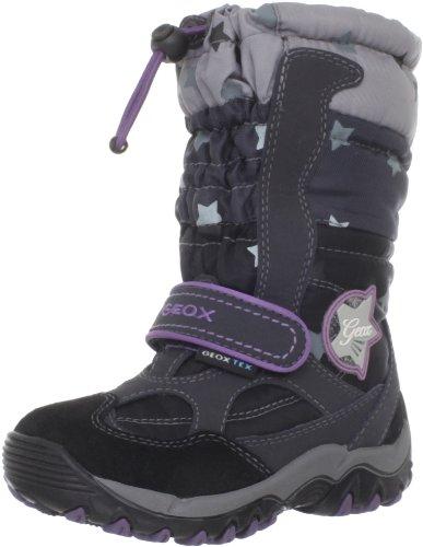 Geox CALASKAGIRLWPF6 Boot (Toddler/Little Kid/Big Kid),Black,26 EU(9 M US Toddler)