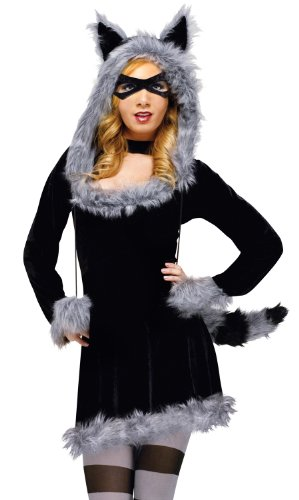 Fun World Women's Racy Raccoon Costume