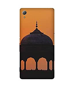 Sunset Fort Sony Xperia Z4 Case