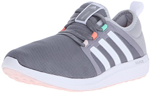 Adidas Performance Women's Fresh Bounce W Women's Running Shoe,Grey/White/Mid Grey,10 M US