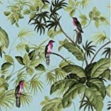 Exotic Rainforest Birds Duck Egg Wallpaper 05550-10
