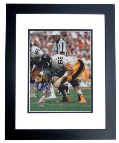 LC Greenwood Autographed / Hand Signed Pittsburgh Steelers 8x10 Photo - BLACK CUSTOM FRAME - Deceased 2013 at Amazon.com