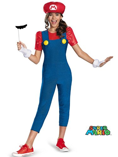 Disguise Nintendo Super Mario Brothers Mario Tween Costume