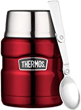 Thermos 0.47 Litre Stainless King Food Flask, Red 184807