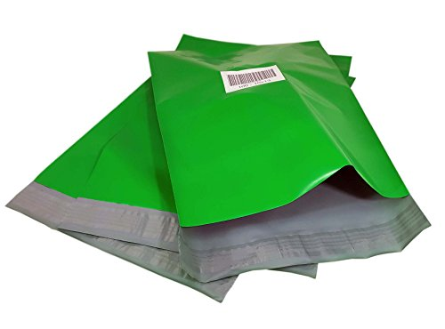 imbaprice-100-10x13-green-color-poly-mailers-shipping-envelopes-bags-total-100-bags