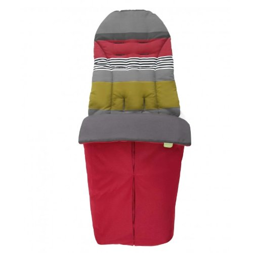 Mamas & Papas Sola Stroller Footmuff - Red - 1