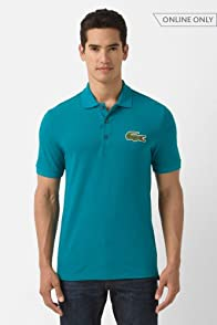 Short Sleeve Big Croc Pique Polo
