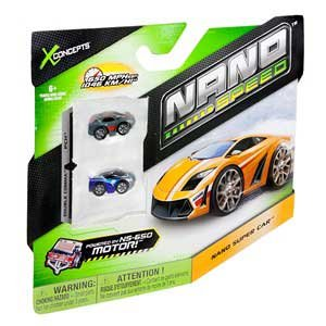 X Concepts Nano Speed Nano Vehicles 2 pack (Colors & Styles Vary) Novelty
