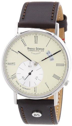 Bruno Söhnle Men's Quartz Watch Rondo 17-13053-131 with Leather Strap