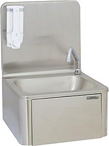 Casselin - clv1 - Lave mains à commande fémorale inox