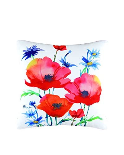 Veranda Poppy Pillow, Multi