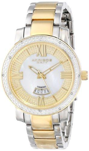 Akribos XXIV Women's AK507TT Sparkling Diamond Bracelet Watch